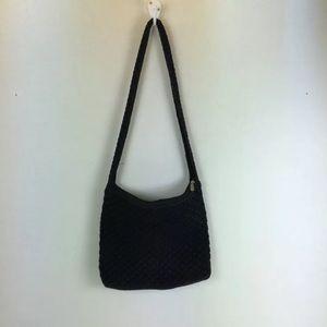 The Sak Crochet Knit Purse Shoulder Bag